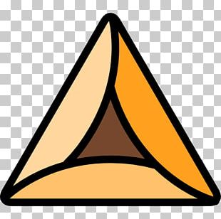 Hamantash Triangle Scalable Graphics Icon PNG