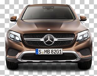 Mercedes-Benz GLC Coupe Sport Utility Vehicle Car New York International Auto Show PNG