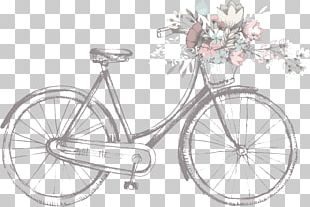 Wedding Invitation Bicycle PNG