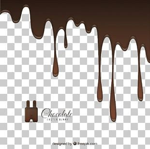 Chocolate Milk Melting PNG