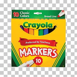 Crayola Marker Pen Paper Drawing Color PNG