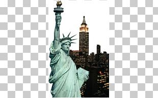 Statue Of Liberty Monument Wall Decal Travel PNG
