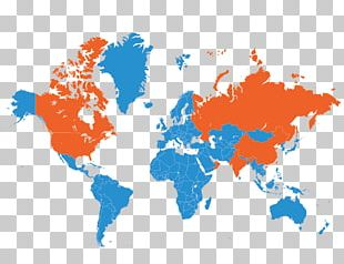 World Map Globe PNG
