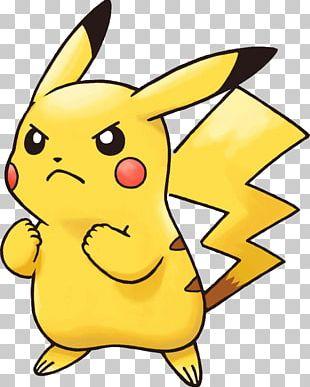 Angry Pikachu Pokemon PNG