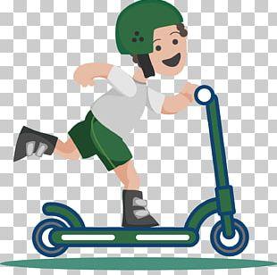 Kick Scooter Skateboard PNG