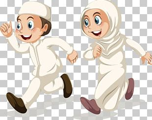 Muslim Islam Cartoon Illustration PNG