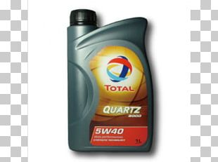 Motor Oil Total S.A. Synthetic Oil Liter PNG