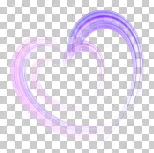 Light Heart Euclidean Shape PNG