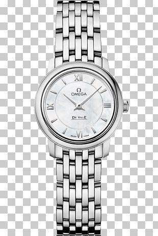 Omega SA OMEGA De Ville Prestige Co-Axial Jewellery Watch Quartz Clock PNG