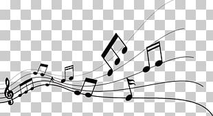 Musical Note Graphic Design PNG