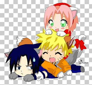 Sakura Haruno Sasuke Uchiha Naruto Uzumaki Kakashi Hatake Naruto Shippuden: Naruto Vs. Sasuke PNG