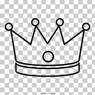 Drawing Coloring Book Crown Coroa Real PNG