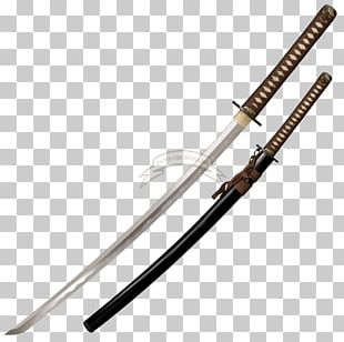 Knife Japanese Sword Katana Cold Steel PNG