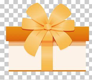 Gift Ribbon Box PNG