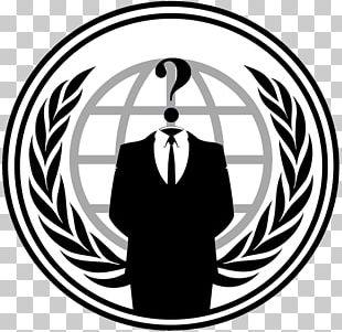 Anonymous Logo Decal Desktop PNG