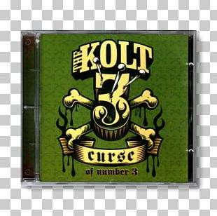 The Kolt Curse Of Number 3 Rectangle Compact Disc Font PNG