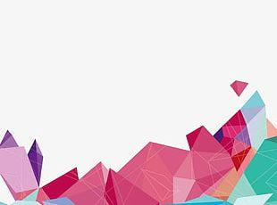 Fashion Geometry Ppt Background PNG