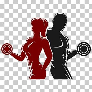 Logo Physical Fitness Fitness Centre PNG