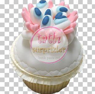 Cupcake Marshmallow Creme Cake Decorating Royal Icing Buttercream PNG