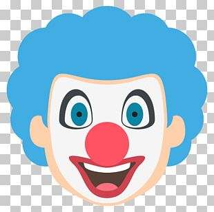 Emojipedia Clown Cute Dog Face PNG