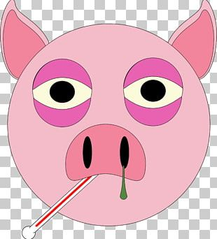 Pig Beach Large White Pig PNG