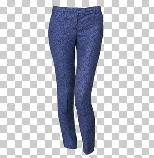 Jeans Denim T-shirt Slim-fit Pants PNG