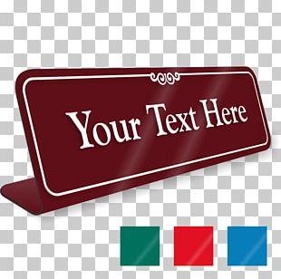Sign Name Plates & Tags Desk Commemorative Plaque Logo PNG