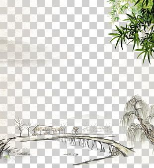 Along The River During The Qingming Festival China Dwelling In The Fuchun Mountains Chinoiserie Chinese Painting PNG