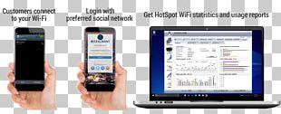 Feature Phone Smartphone Hotspot Wi-Fi Internet PNG