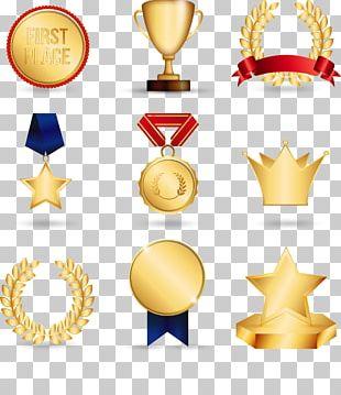 Gold Medal Trophy PNG