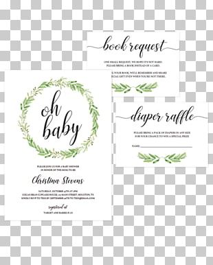 Baby Shower Wedding Invitation Diaper Party Infant PNG