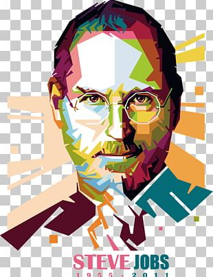 Steve Jobs Art PNG