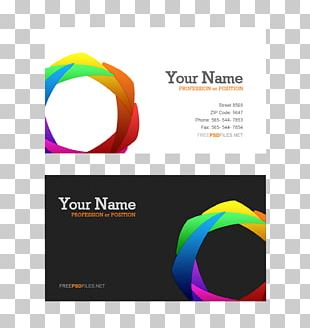 Business Card Template Visiting Card PNG