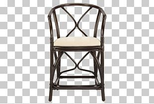 Bar Stool Table Rattan Chair PNG