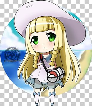 Chibi Pokémon Sun And Moon Drawing Lillie PNG