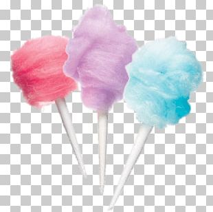 Coloured Candy Floss PNG