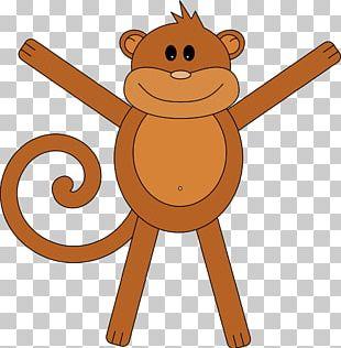 Monkey Drawing PNG
