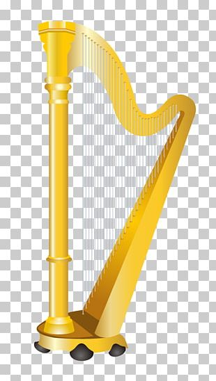 Musical Instrument Harp PNG