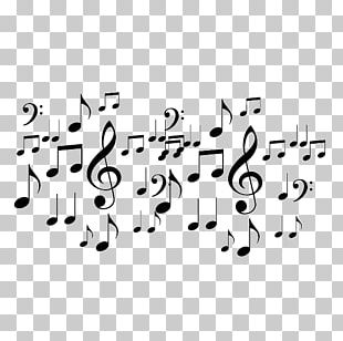 Musical Note Silhouette Musical Theatre Music PNG