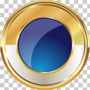 Gold Medal Badge PNG