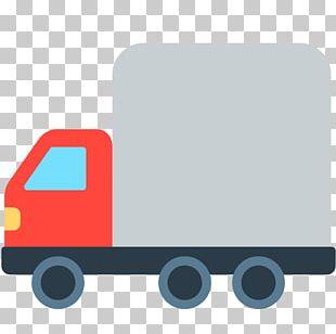 Motor Vehicle Emoji Truck Van Car PNG