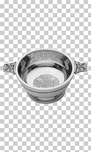Quaich Bowl Scotland Loving Cup Pewter PNG