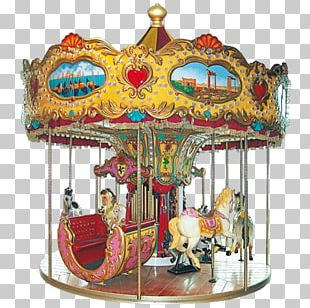 Carousel Kiddie Ride Amusement Park Recreation Tourist Attraction PNG