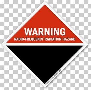 Hazard Symbol Radio Frequency Warning Sign PNG
