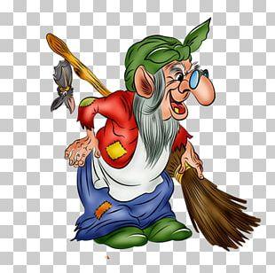 Baba Yaga Koschei Fairy Tale Witchcraft Crone PNG