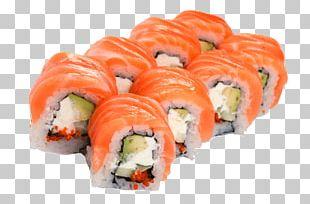 Sushi Makizushi Sashimi California Roll Salmon PNG