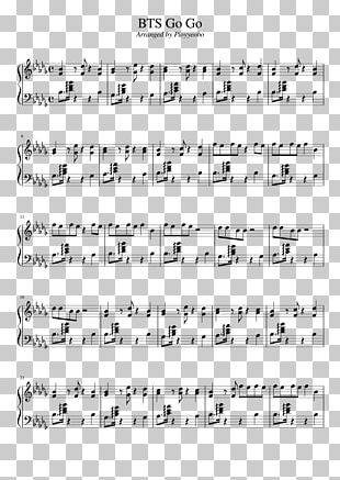 Blood Sweat & Tears Sheet Music BTS Chord Musical Note PNG