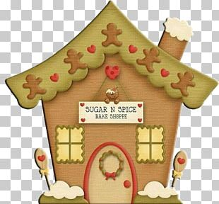 Gingerbread House Gingerbread Man Christmas PNG