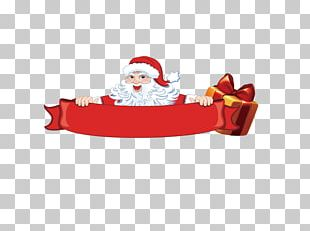 Santa Claus Christmas Tree Gift New Year PNG