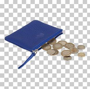Coin Purse Cobalt Blue PNG